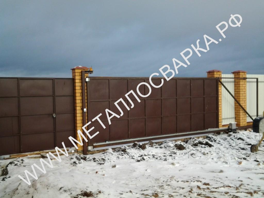 Сварные изделия из металла для дачи 83